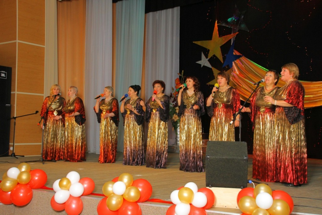 Вокальная группа «Элегия» поддержала гостей своим «Пожеланием»
