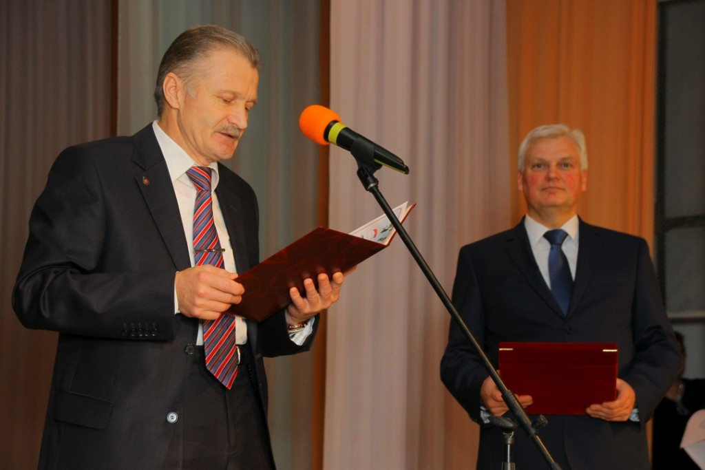 председатель первичной профсоюзной организации НШУ «Яреганефть» А. П. Дмитрук