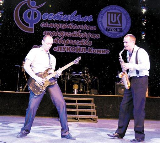 Инструментальный дуэт ЛИГА 2012-11 фестиваль ЛУКОЙЛА