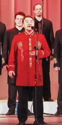 Праздничный хор Валаамского монастыря, солист А. Бордак