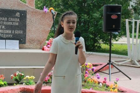 22.06.2016 Митинг Даша Калиниченко