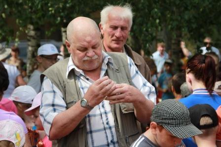 22.06.2016 Митинг ветераны шахтеры- нефтяники
